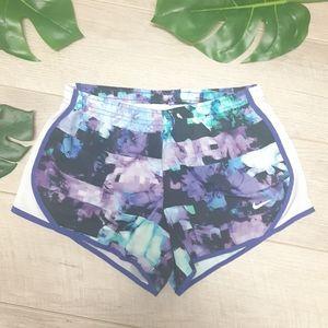 Nike blue & purple running shorts Size Medium